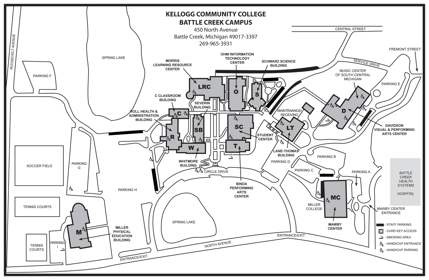 Kcc Campus Map Some parking lots closed this weekend on North Ave. campus – KCC Daily Kcc Campus Map