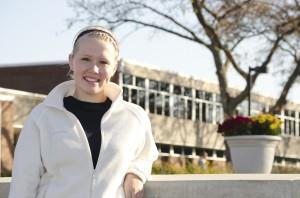 Gold Key Scholarship recipient Makenzie Farmer.