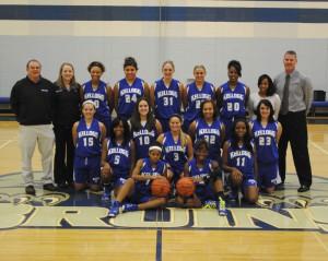 KCC's 2012-13 women's basketball team.