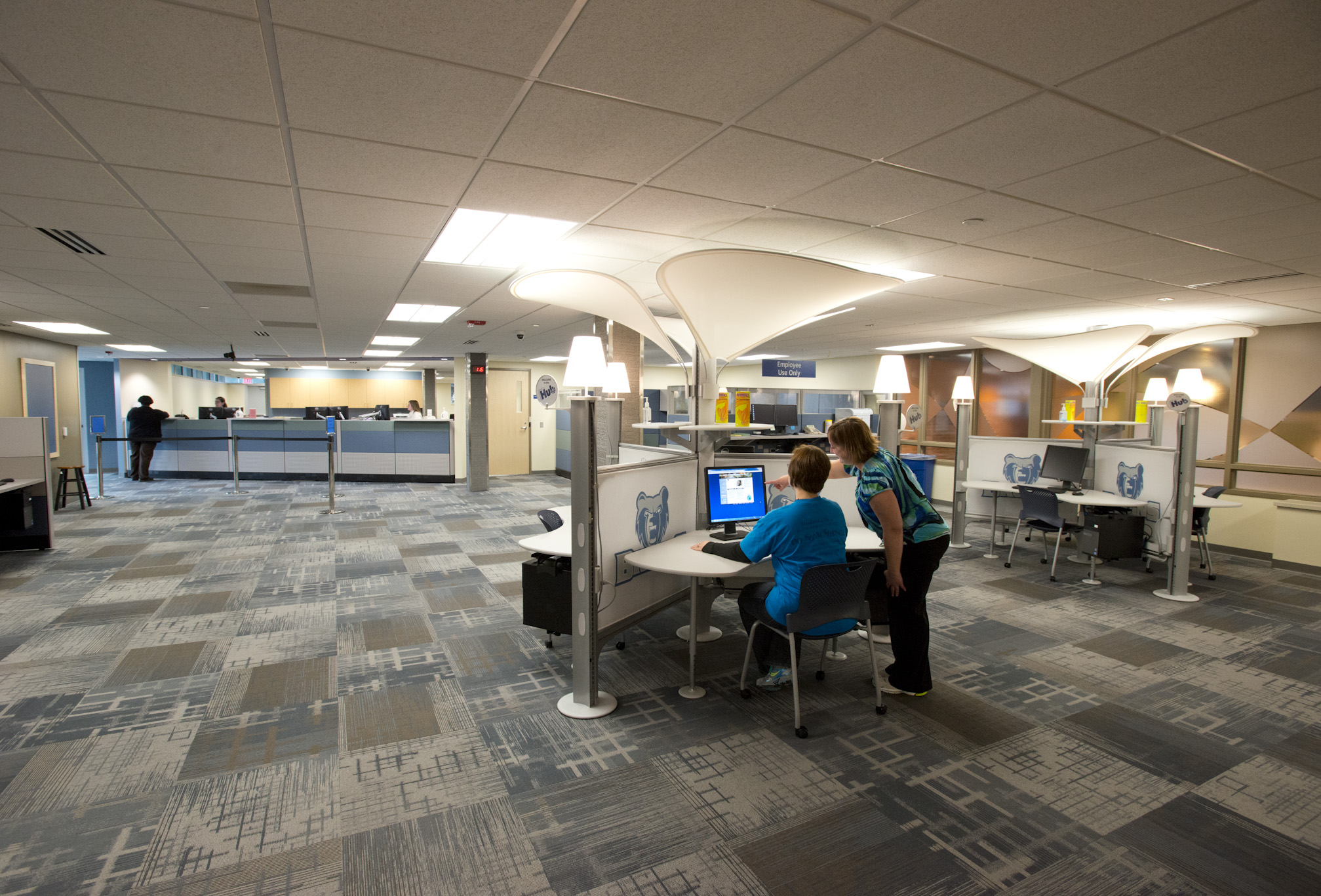 The Student Services Hub on KCC's North Avenue campus in Battle Creek.