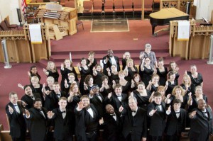 KCC's Kellogg Singers will perform as the featured choral group at Wakeshma Community Church this Sunday.