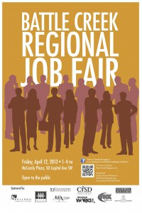 The Battle Creek Regional Job Fair starts today at 1 p.m.