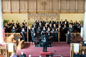 A photo from the KCC Choral Union's annual Singing in the Spring choral event held earlier this month.