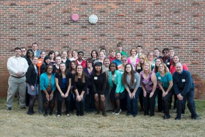 Congratulations to the Spring 2013 Phi Theta Kappa students, inducted last Thursday during a ceremony at the Binda Theatre!