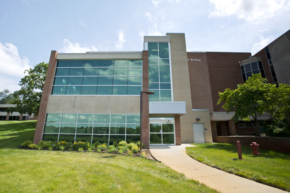 The Kellogg Community College Foundation office is located on the first floor of the C Classroom Building on KCC's North Avenue campus in Battle Creek, pictured here.