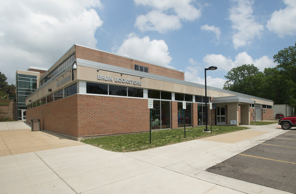 KCC's Bruin Bookstore is located on the first floor of the Lane-Thomas Building on the college's North Avenue campus in Battle Creek.