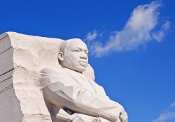 Martin Luther King Jr. statue in Washington, DC