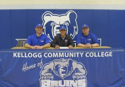 KCC baseball signing photo for Anthony DiPonio