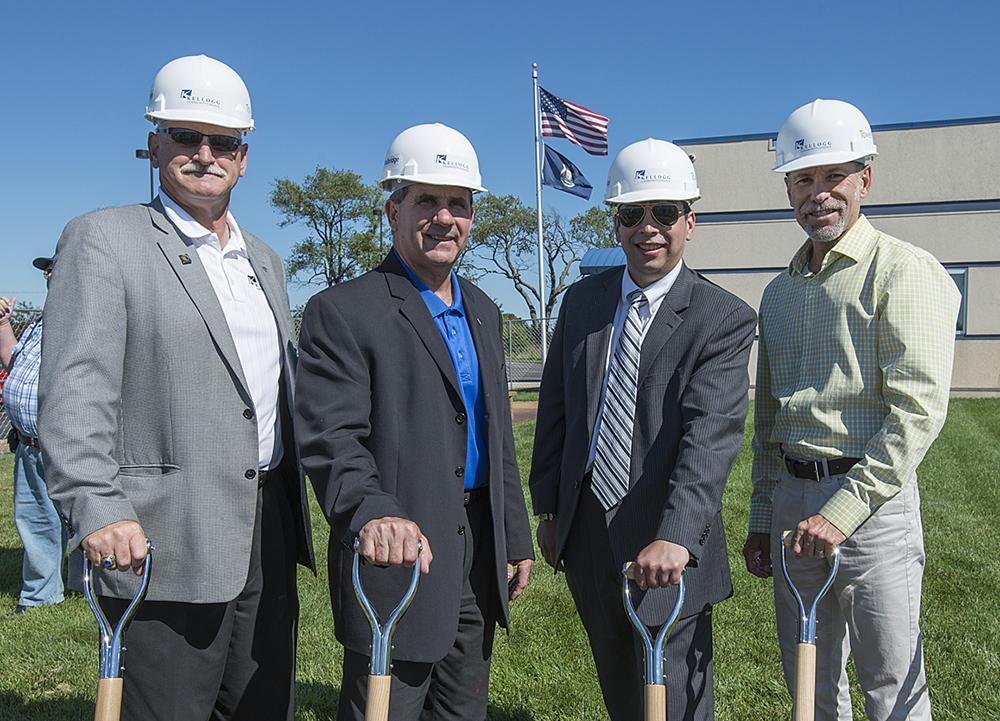 KCC officials break ground on the EAC expansion in August 2013