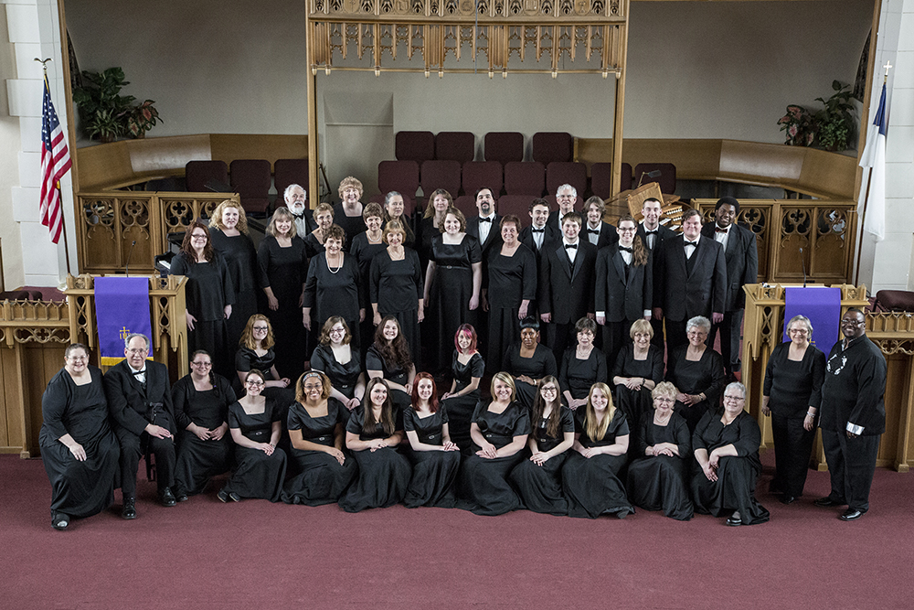 A group photo of the KCC Choirs.