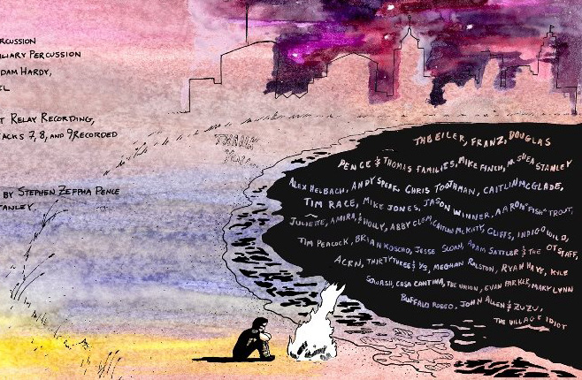 Detail from a She Bears album cover