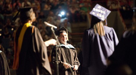 2014 Commencement ceremony is May 15