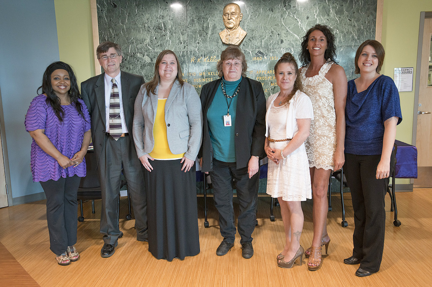 Paralegal students inducted into the LEX honor society in 2014.