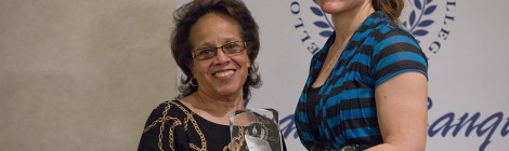 Professor Sheila Matthews wins MCCA Outstanding Faculty Award