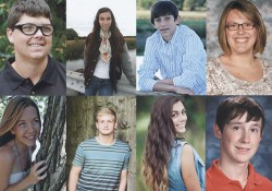 Profile pictures of each of the KCC Foundation's 2014 Gold Key Scholarship winners.
