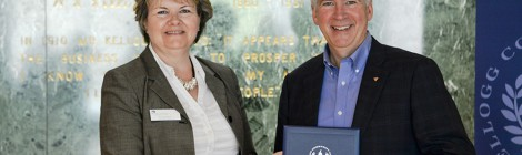 KCC awards degree to Governor Rick Snyder