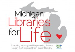 Michigan Libraries for Life logo