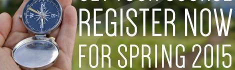 Registration for spring classes begins Oct. 27