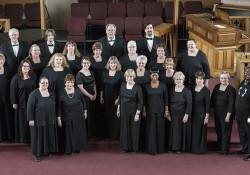 Group photo including members of the Branch County Community Chorus