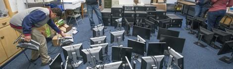 KCC donates 50 computers to Calhoun Community High School