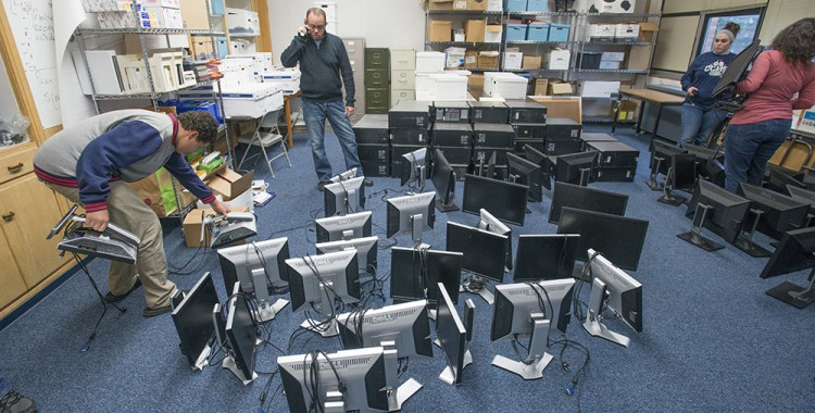 KCC donates 50 computers to Calhoun Community High School