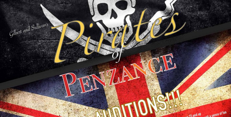 Auditions for KCC's 'Pirates of Penzance' continue Jan. 23