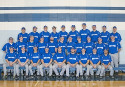 KCC's 2015 baseball team's official team photo