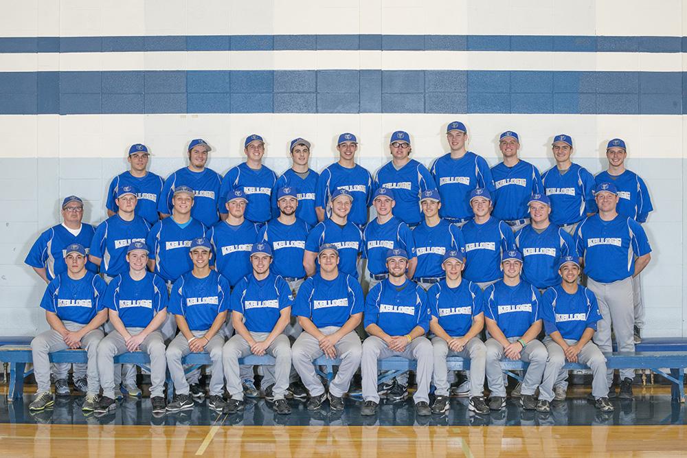 KCC's 2015 baseball team's official team photo
