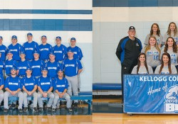 KCC's 2015 baseball and softball teams' team photos