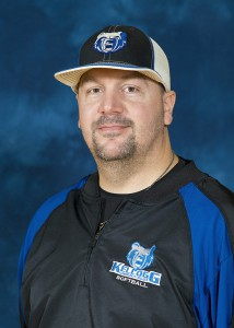 KCC's head softball coach Darrick Brown
