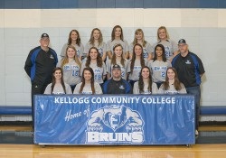 KCC's 2014-15 softball team.