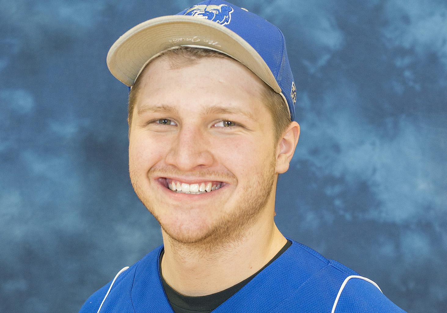 KCC pitcher Tyler Bradner