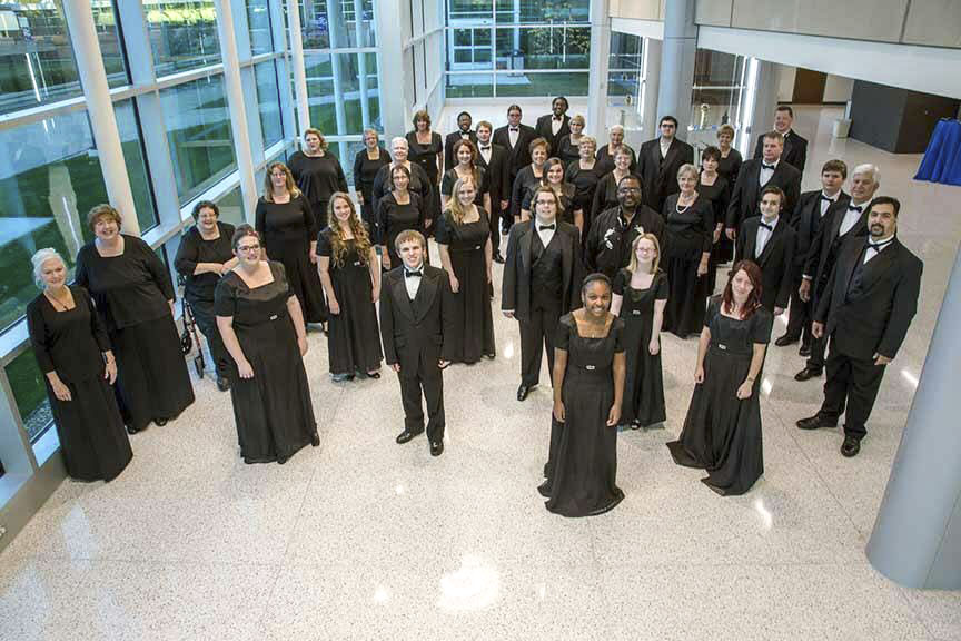 A group photo of KCC's 2015 Choral Union.