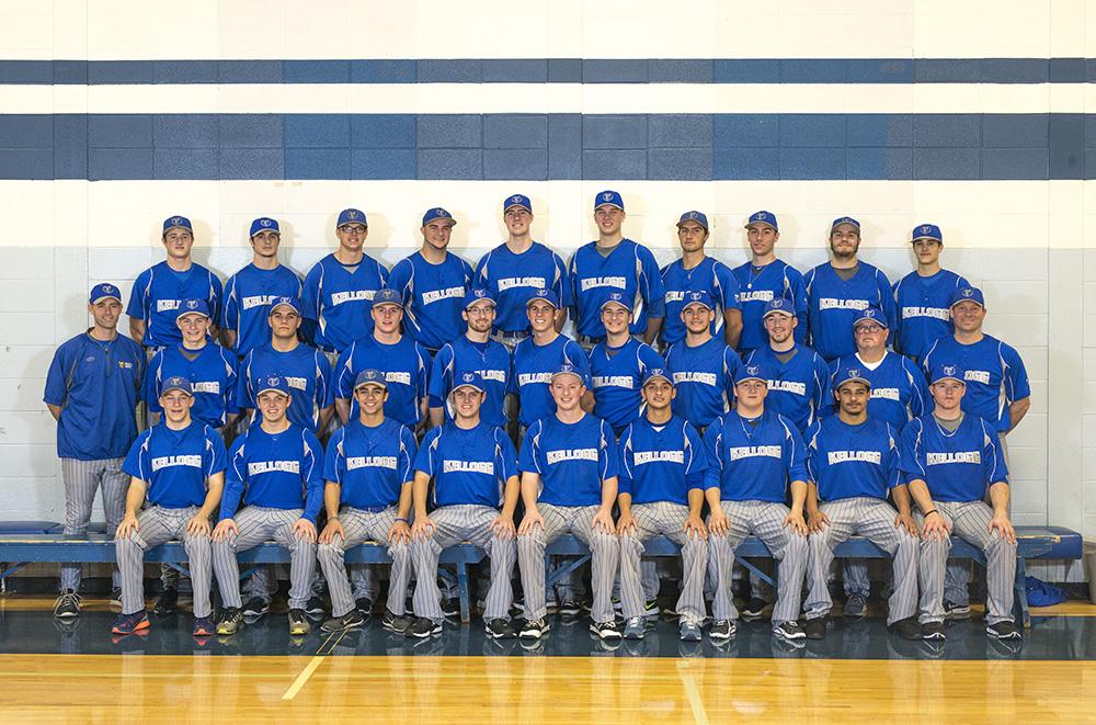 KCC's 2016-17 baseball team.