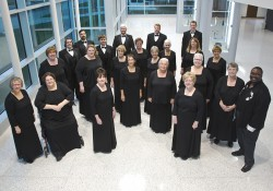 A group photo of KCC's Branch County Community Chorus