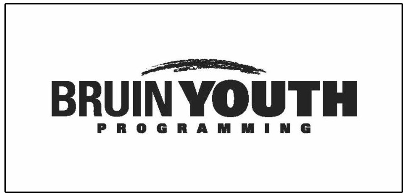 The logo for KCC's new Bruin Youth Programming initiative.