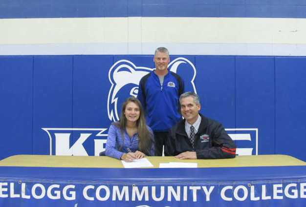 KCC signs Marshall's Emily Delmotte to women's basketball
