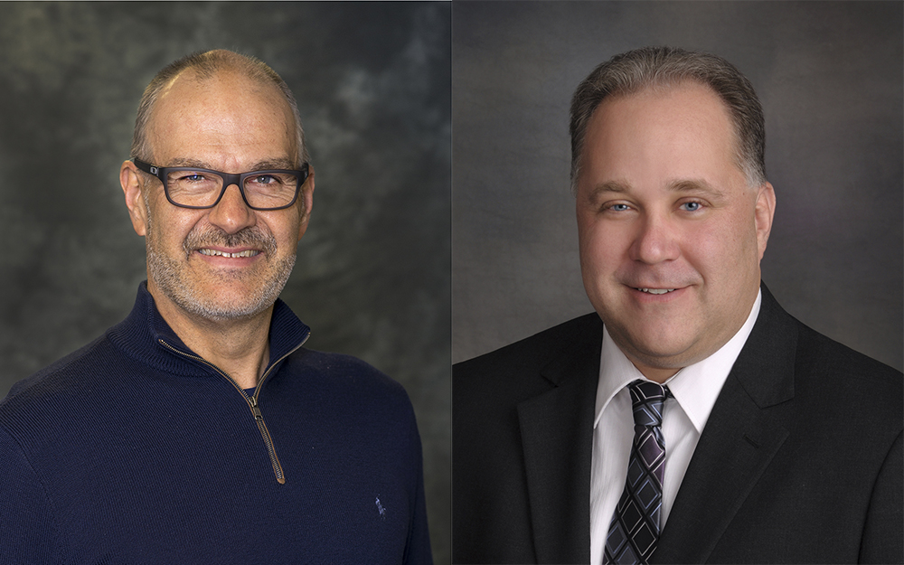 KCC Foundation Board members Adam Dingwall, left, and Chad Smith, right.