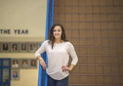 Dual-enrolled Harper Creek/KCC student Hailey Peguero.