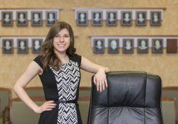 Business Management student Allison Anthony.