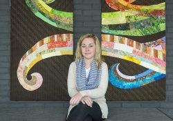KCC student Sabrina Benoit.
