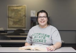 KCC Human Services student Marley Munn.