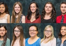 Thirteen of the 14 KCC Foundation's 2017 Board of Trustees Scholars.