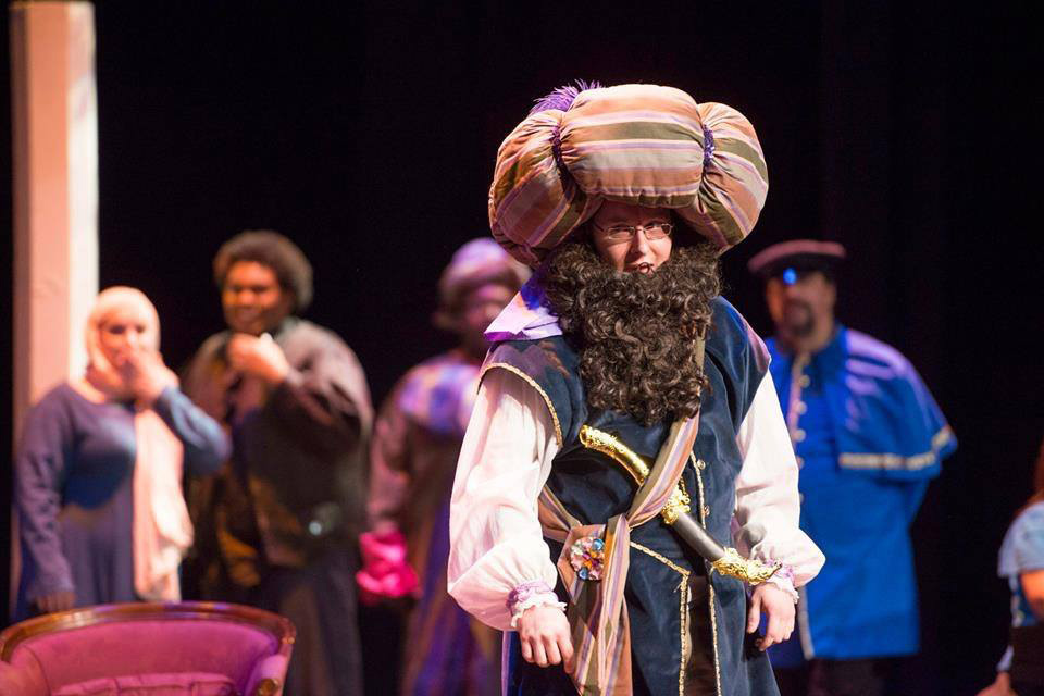 "A scene from the KCC Opera Workshop production of ""Amahl and the Night Visitors"" in 2014."