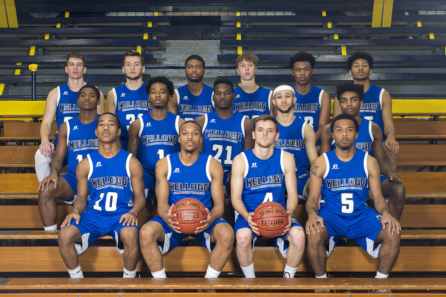 KCC's 2017 men's basketball team