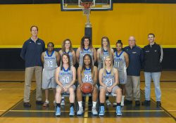 KCC's 2017-18 women's basketball team.