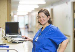 KCC Nursing student Fernanda Rivera.