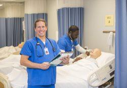 KCC Nursing student Jim Pero
