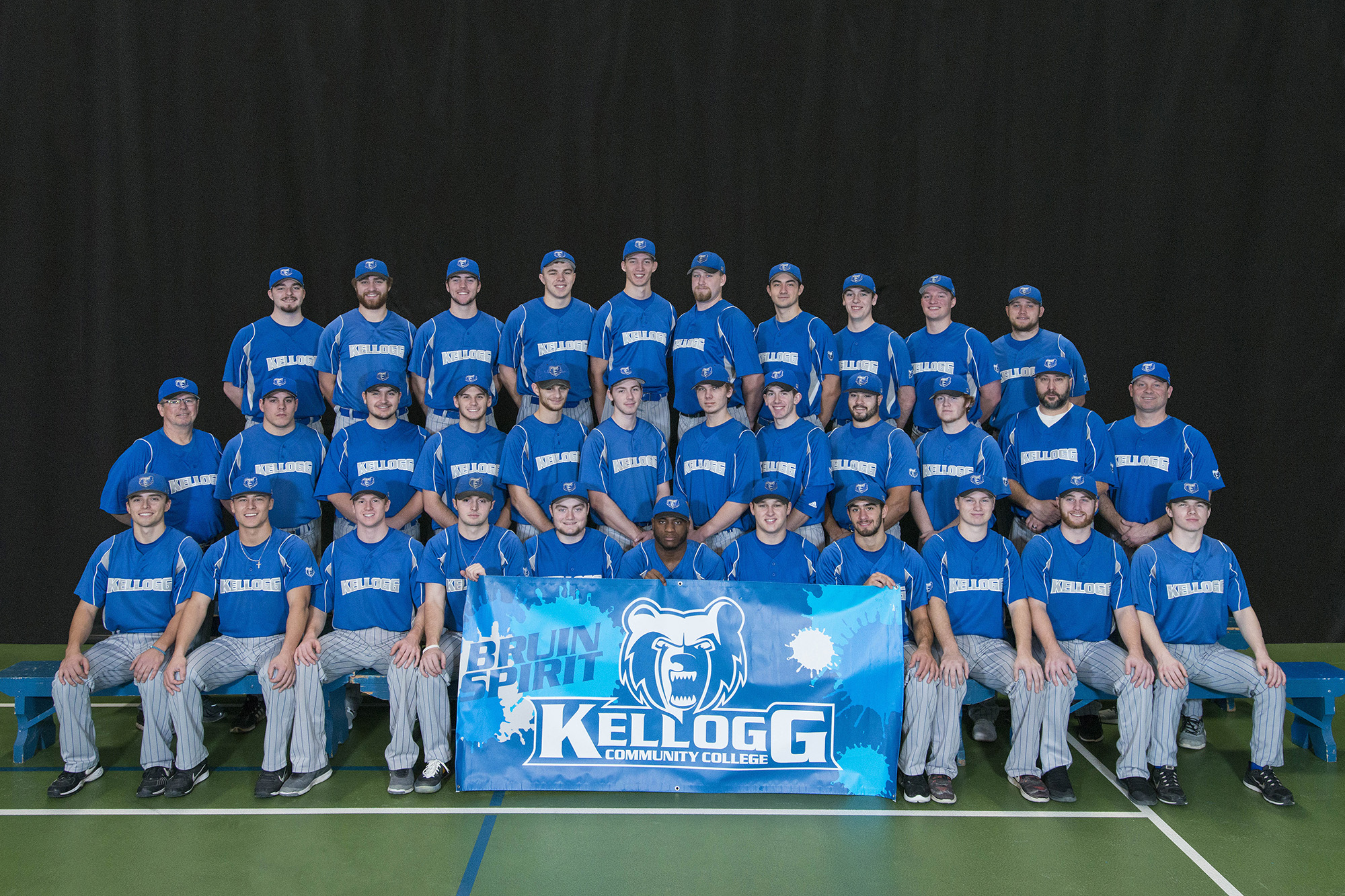 KCC's 2018 baseball team.