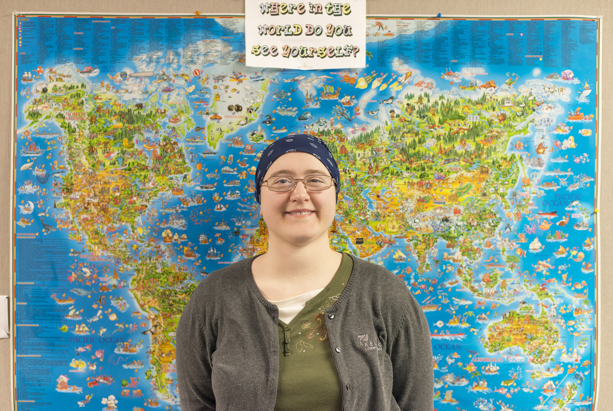 KCC student Diana Campbell.